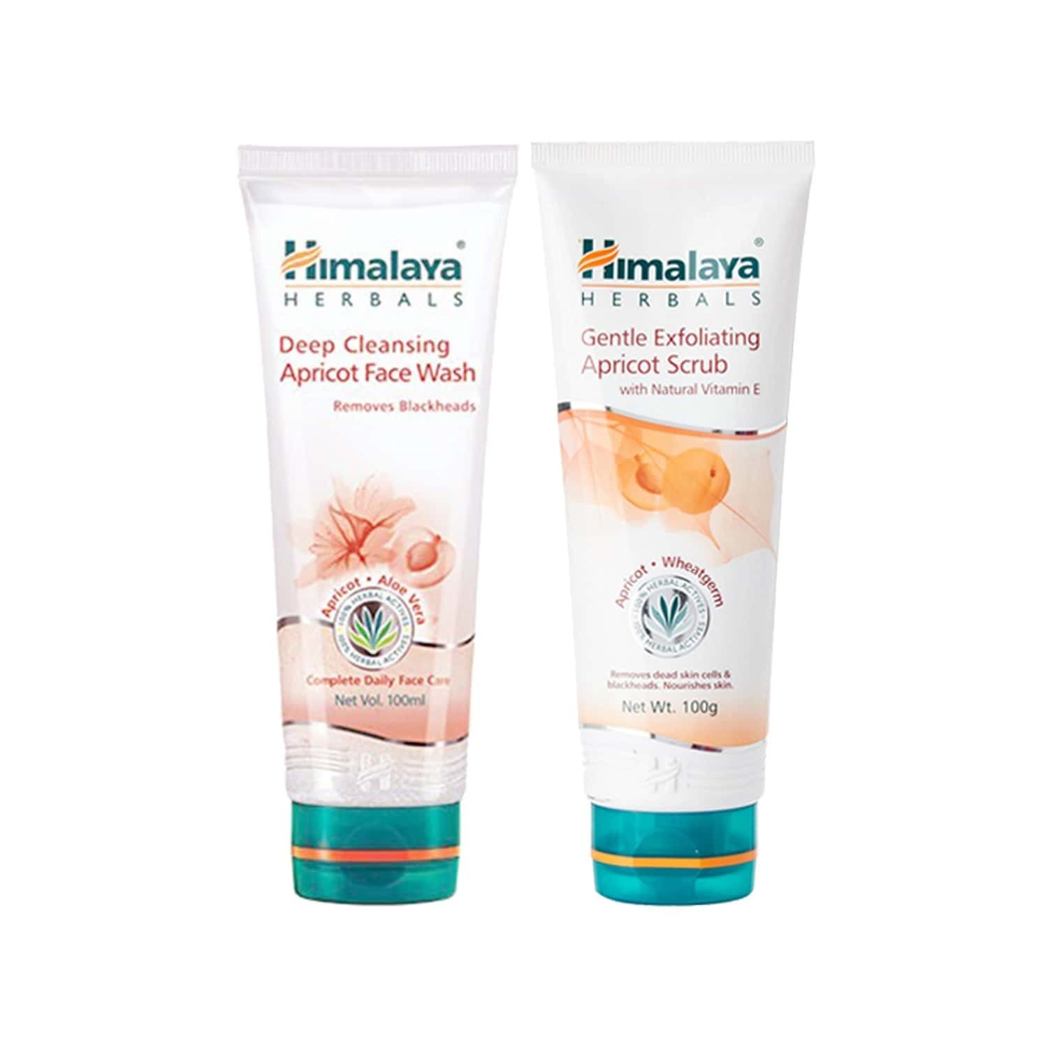 Himalaya Apricot Double Value Pack (facewash And Scrub)