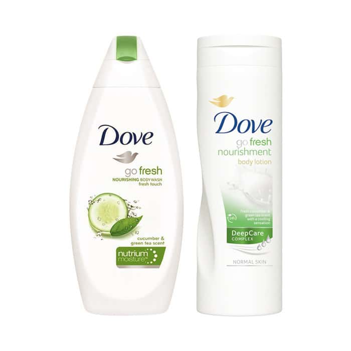 Dove Go Fresh Value Pack (body Lotion And Body Wash)