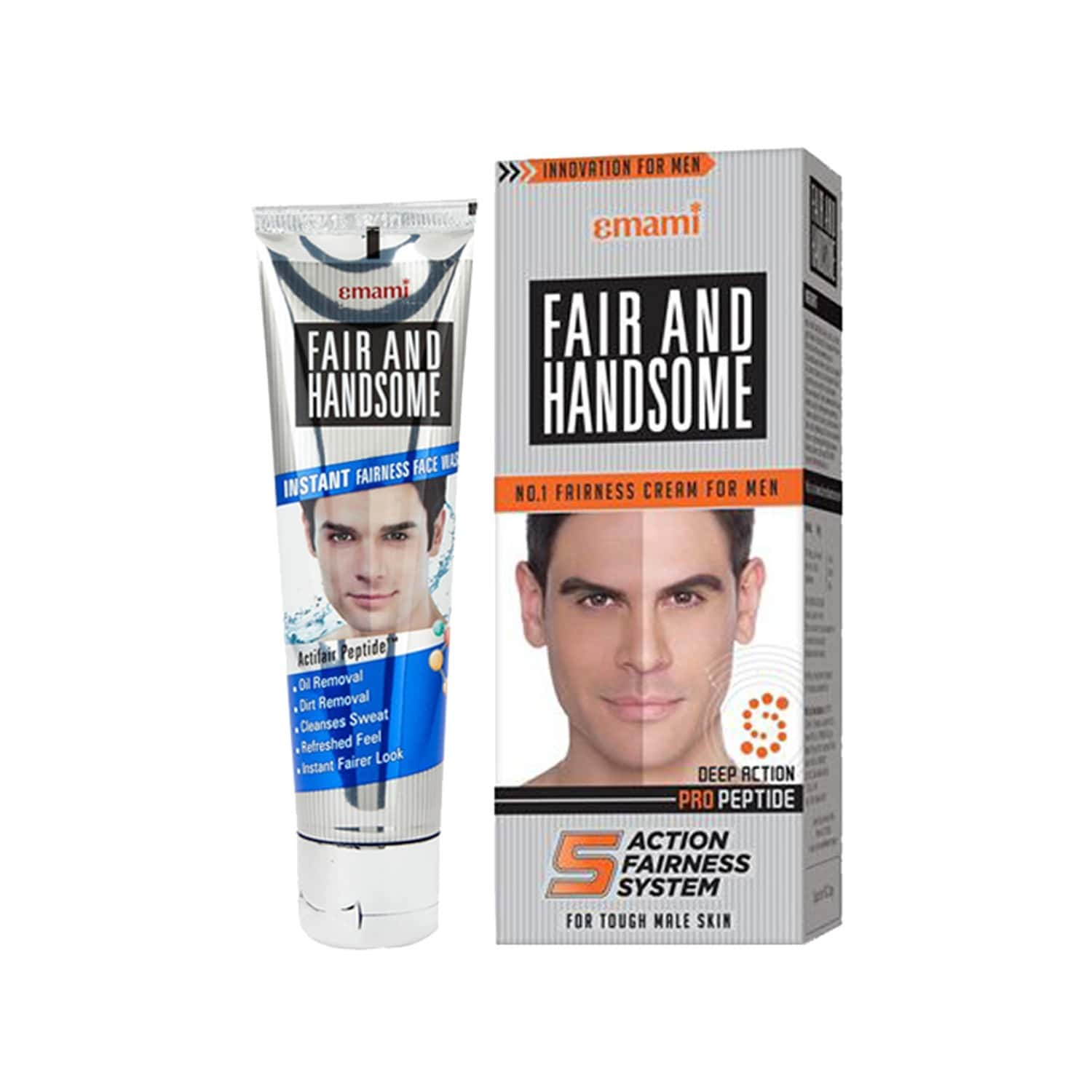 Fair And Handsome Value Pack (cream And Face Wash)