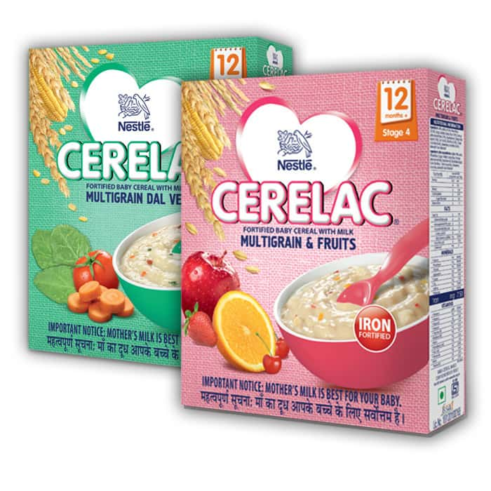 Nestle Cerelac Infant Cereal Stage-4 (12 Months-24 Months) Two Flavours Value Pack