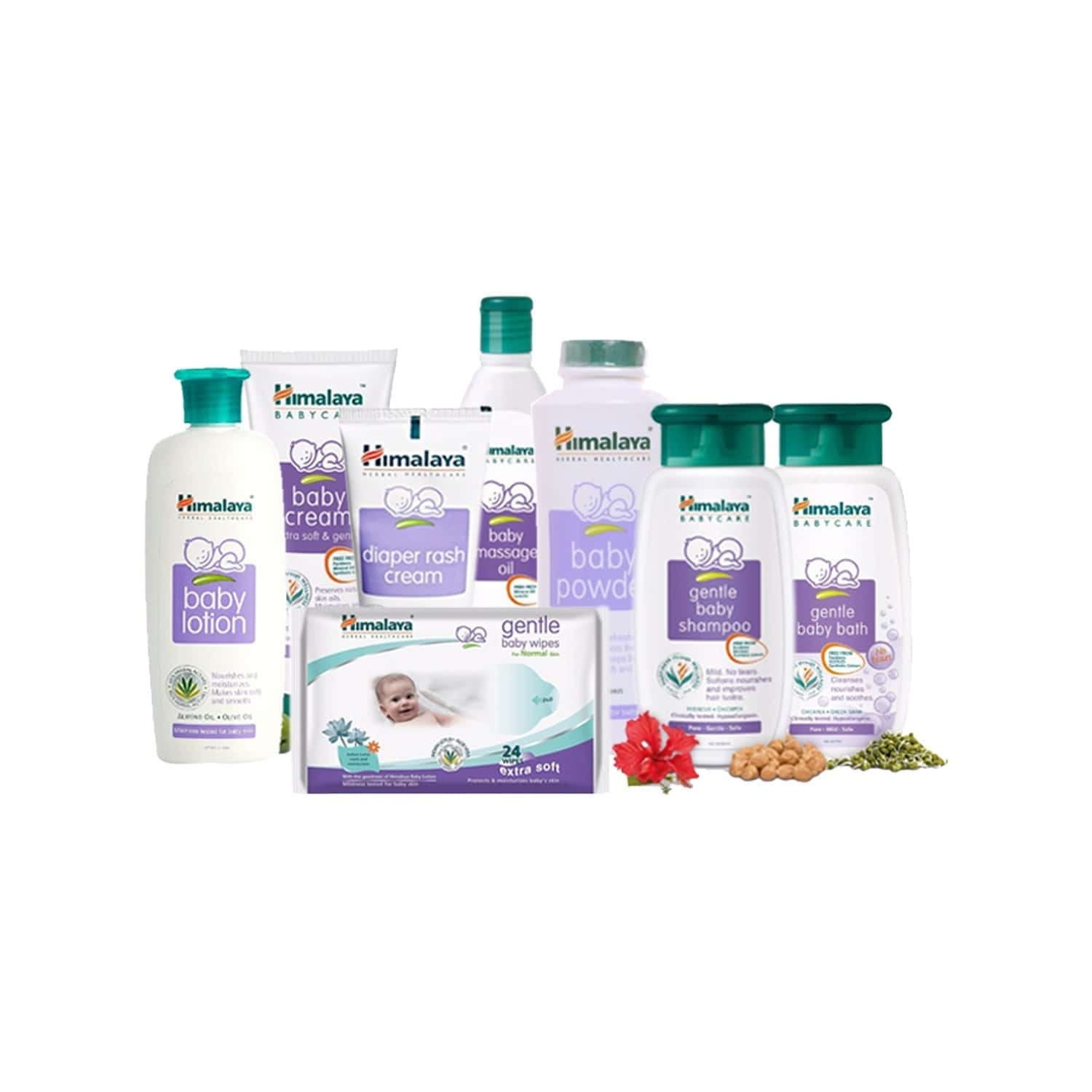Himalaya Baby Products (value Pack)