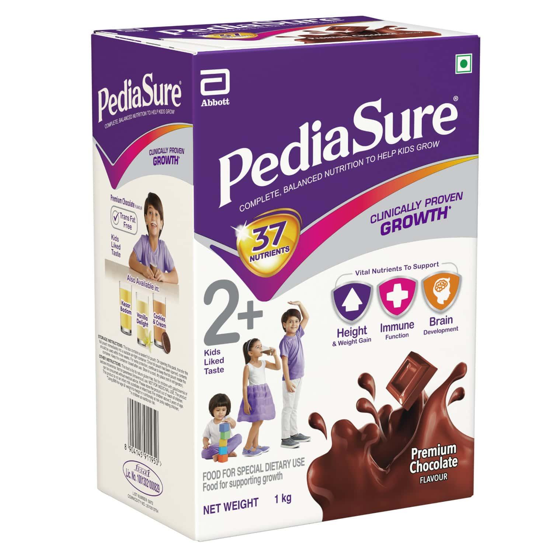 Pediasure Premium Chocolate Child Nutrition Drink Refill Of 1 Kg