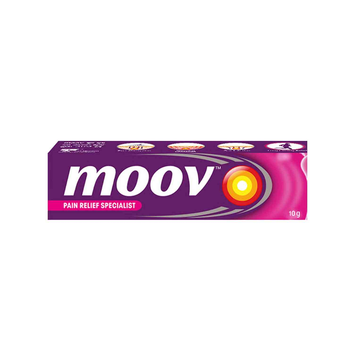 Moov Pain Relief Ointment Tube Of 10 G
