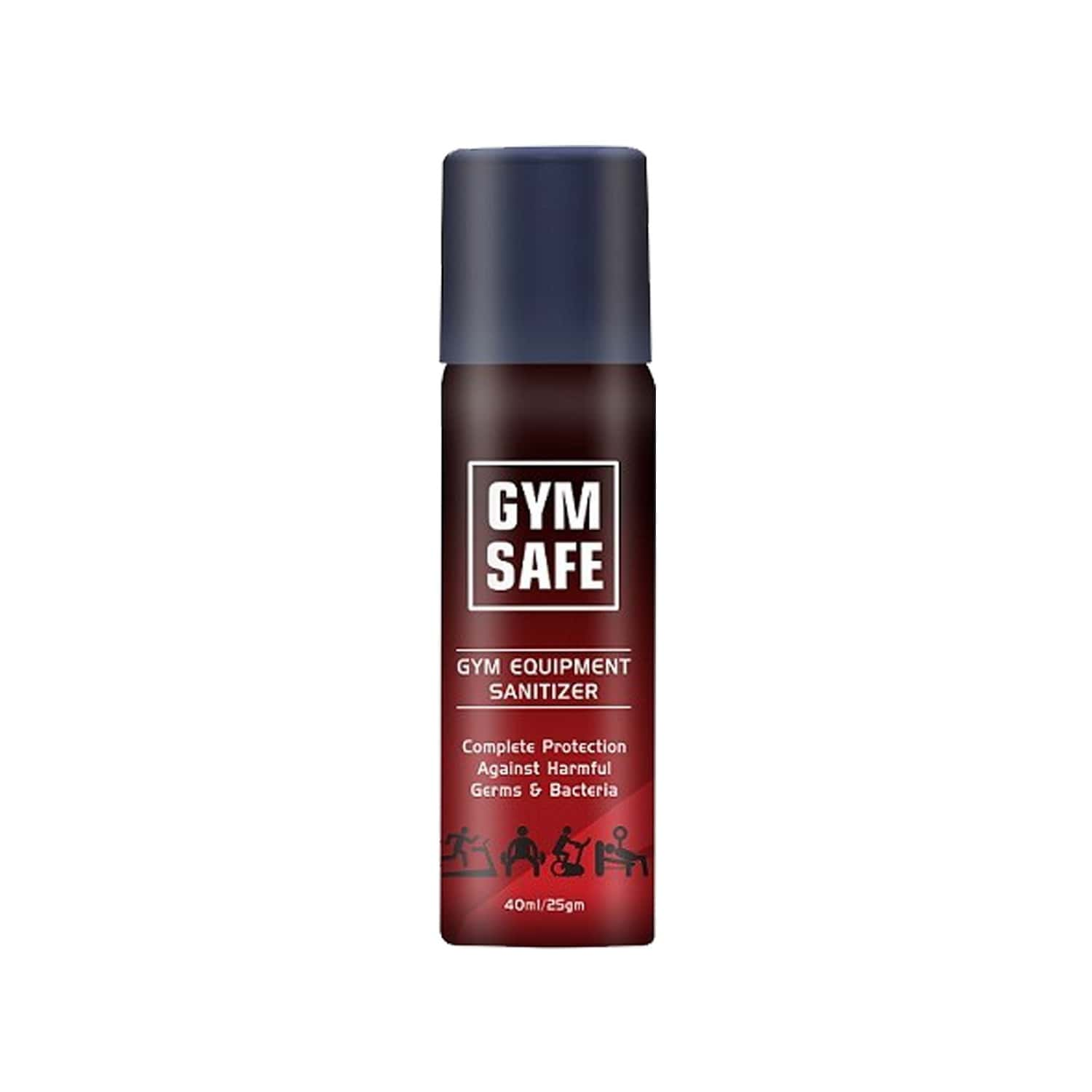 Gymsafe-gym Equiment Sanitizer Spary 40 Ml