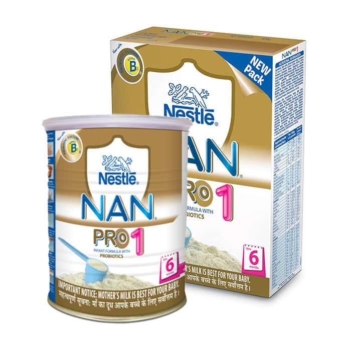 Nestle Nan Pro 1 Infant Formula (upto 6 Months) Value Pack