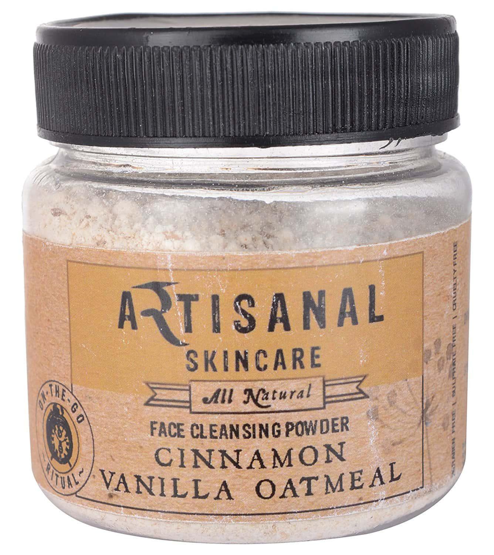 Artisanal Skincare Cinnamon Vanilla Oatmeal Face Scrub, 100 Gm