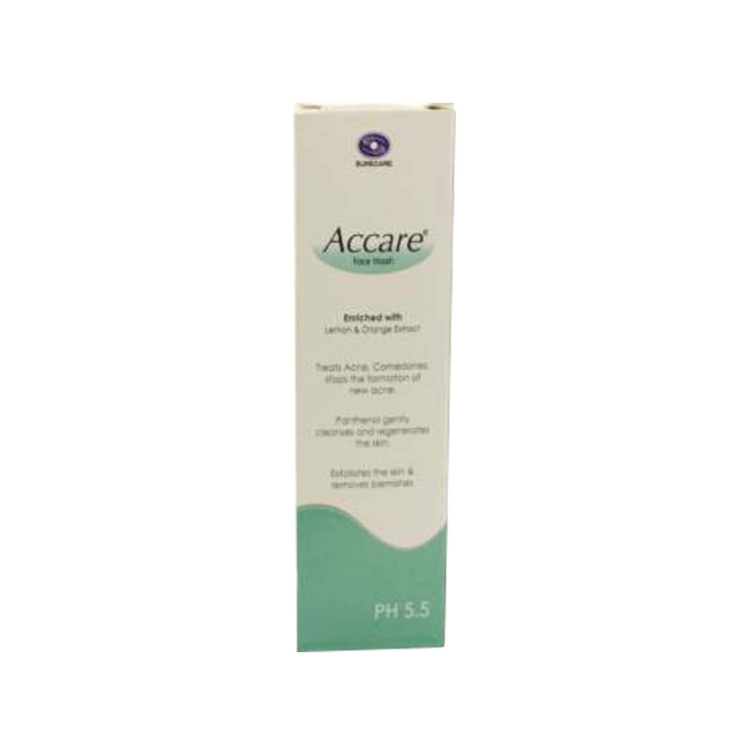 Accare  Face Wash  Tube Of 100 Ml