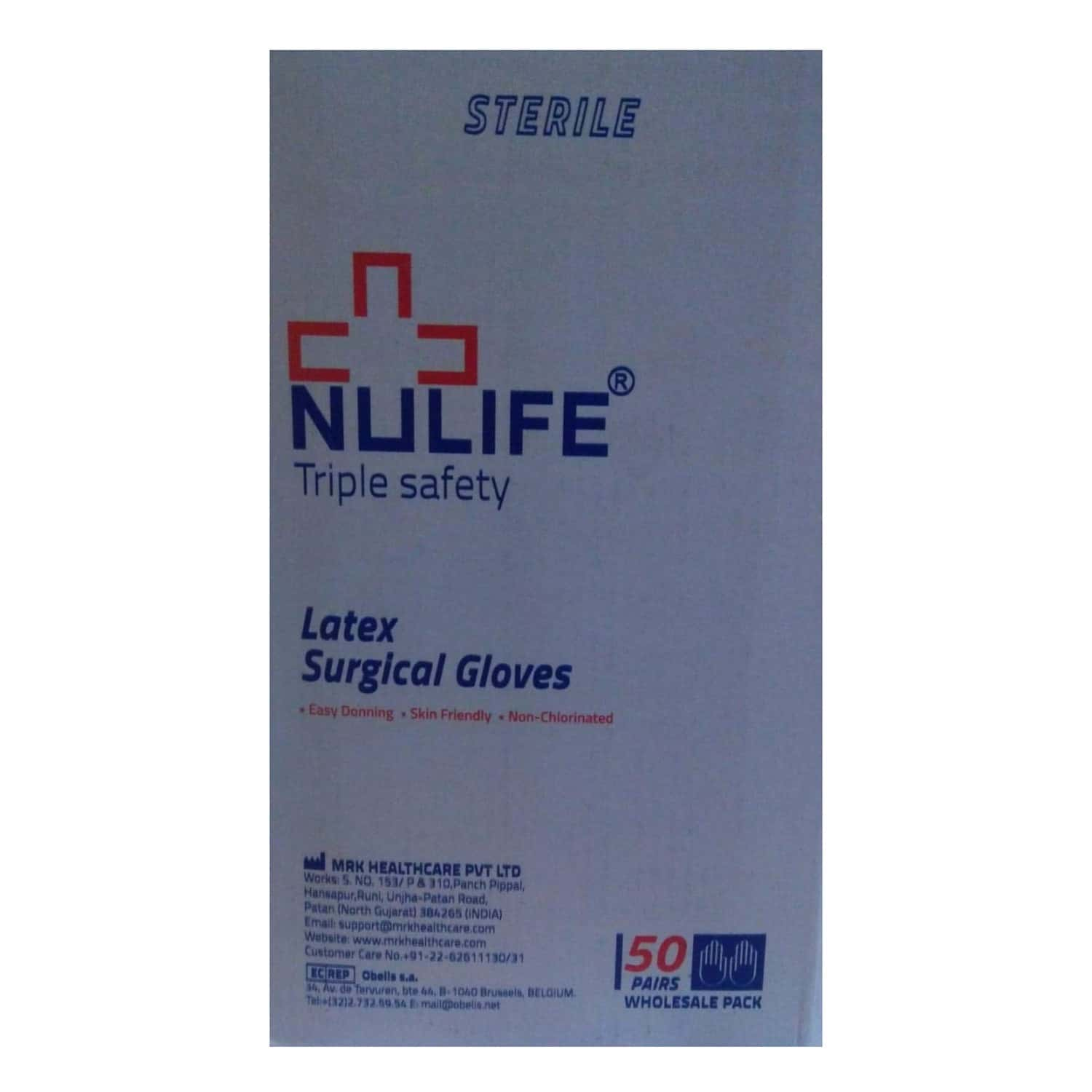 Nulife Size 7 1/2 Gloves 1 Pair