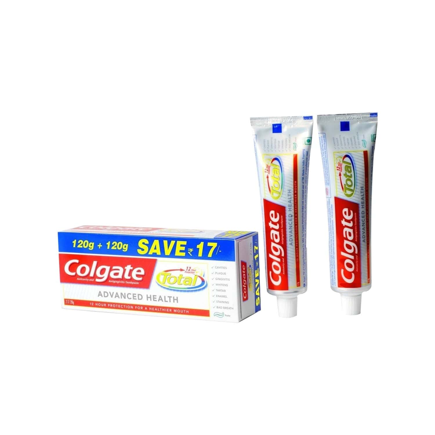 Colgate Toothpaste-total Advance Health - 240 G - Saver Pack