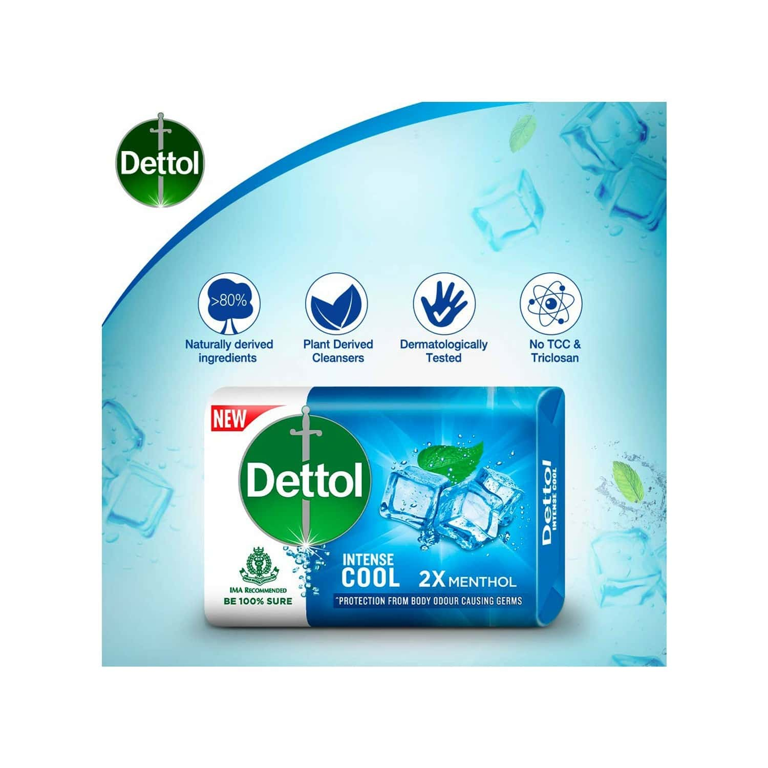 Dettol Germ Protection Soap Box Of 125 G