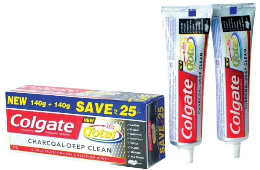 Colgate Toothpaste-total Charcoal -280 G-saver Pack-advanced Protection
