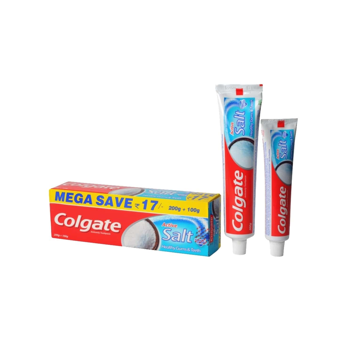 Colgate Active Salt Toothpaste Tube Of 300 G Saver Pack