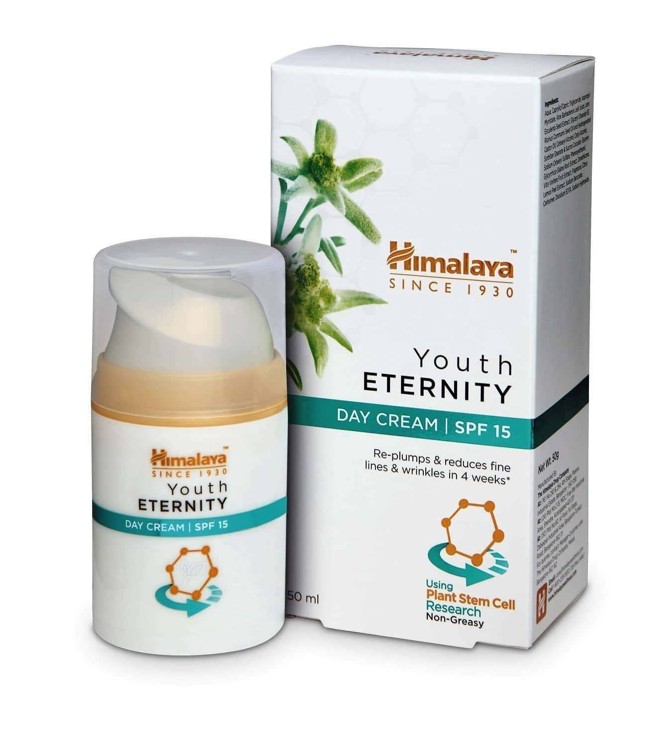Himalaya Youth Eternity Spf 15 Day Cream 50 Ml