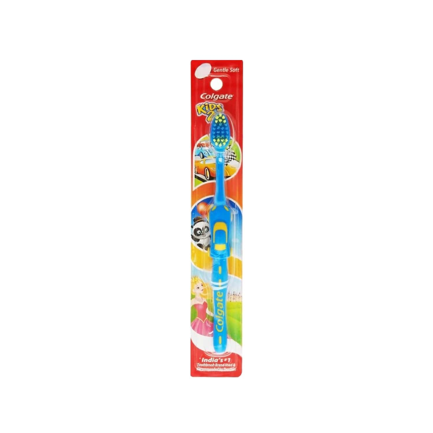 Colgate Toothbrush-colgate Kids Toothbrush 2+ Years -1 Pc-extra Soft