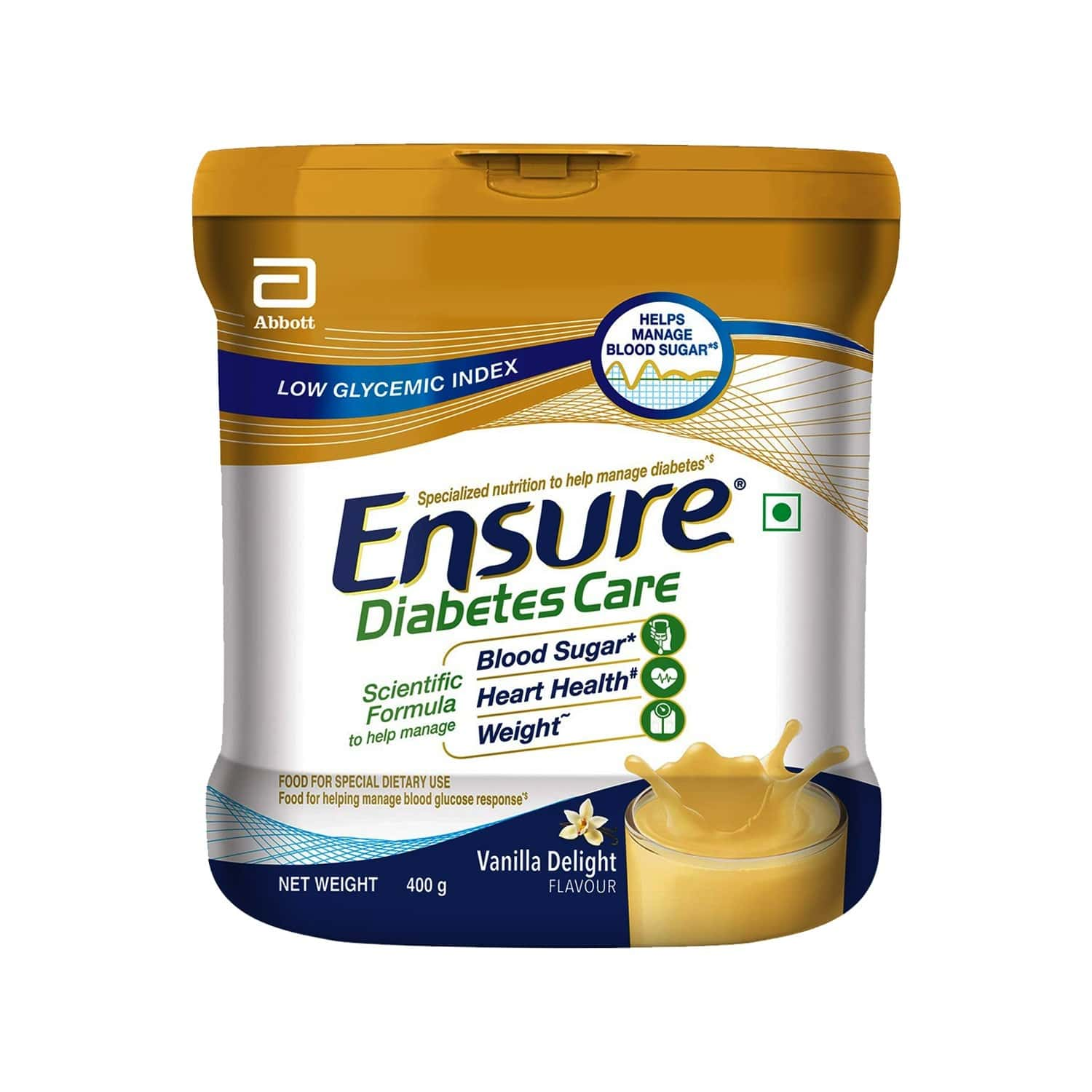 Ensure Diabetes Care Vanilla Diabetes Care Powder Jar Of 400 G