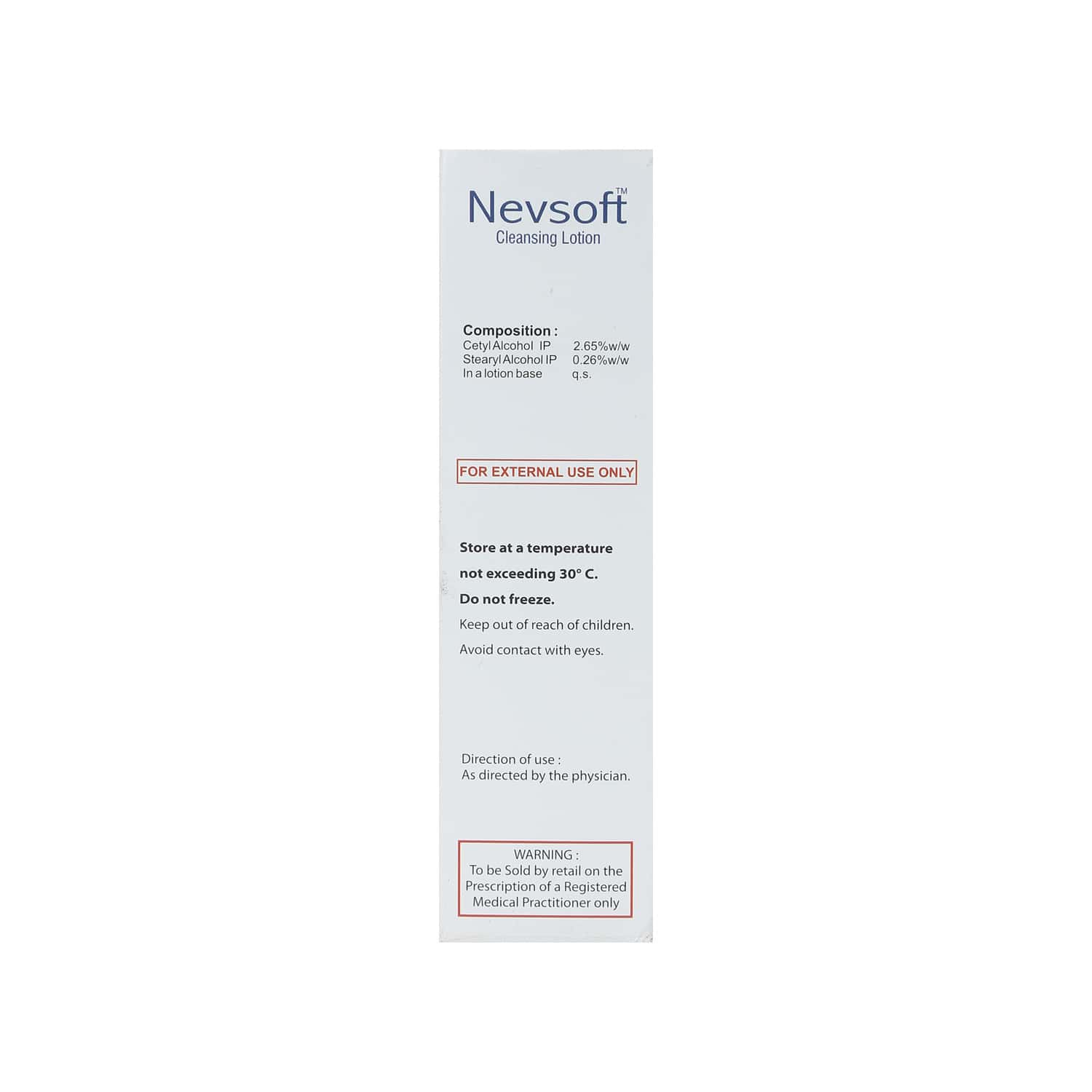 Nevsoft Cleansing Lotion 125ml