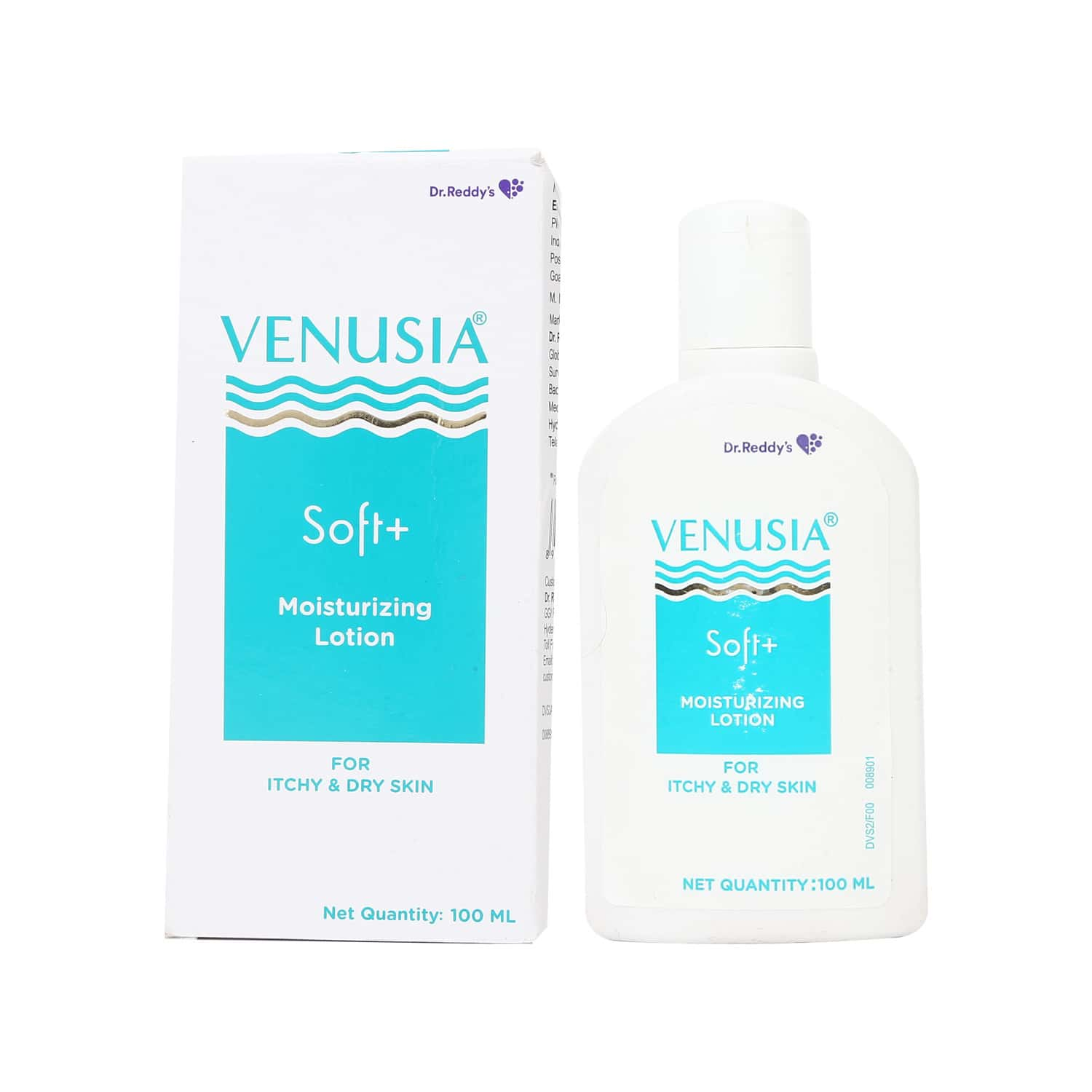 Venusia Soft+  Moisturizing Lotion For Itchy And Dry Skin Box Of 100 Ml