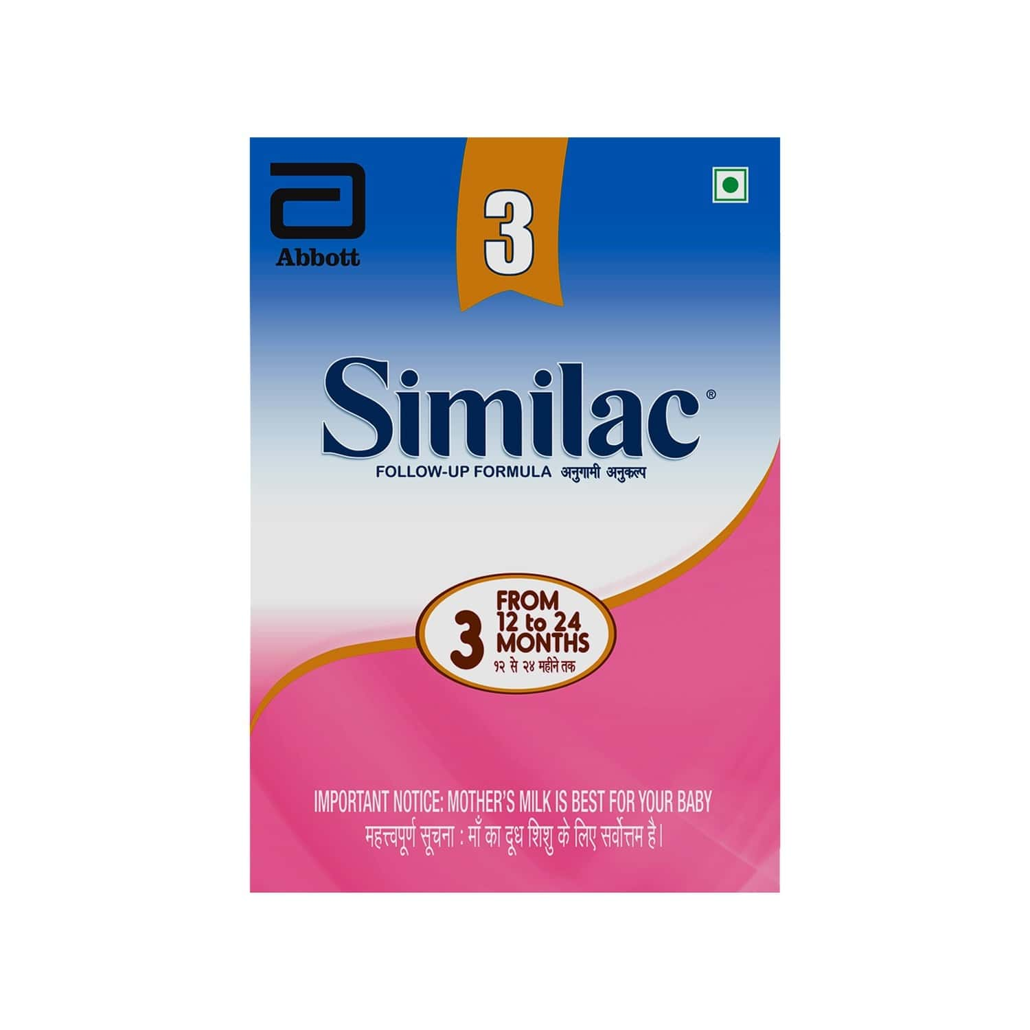 Similac Baby Food Stage 3 Followup Infant Formula (from 12 - 24 Months) Box Of 400 G