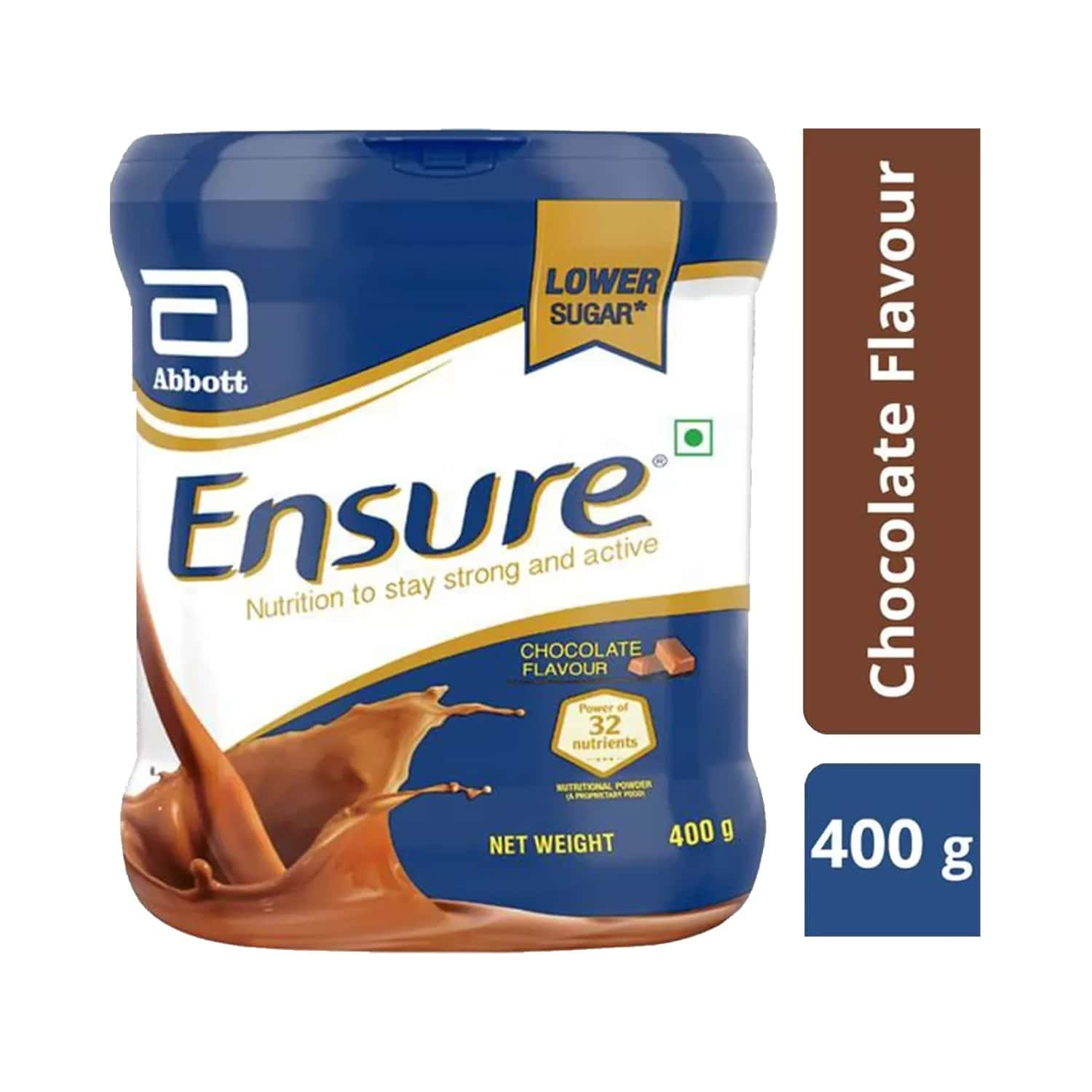 Ensure Chocolate Nutrition Drink Bottle Of 400 G