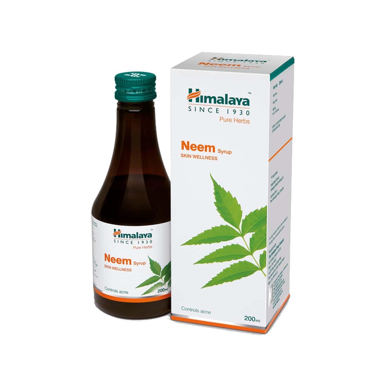 Himalaya Wellness Neem Syrup (200 Ml) - Skin Wellness