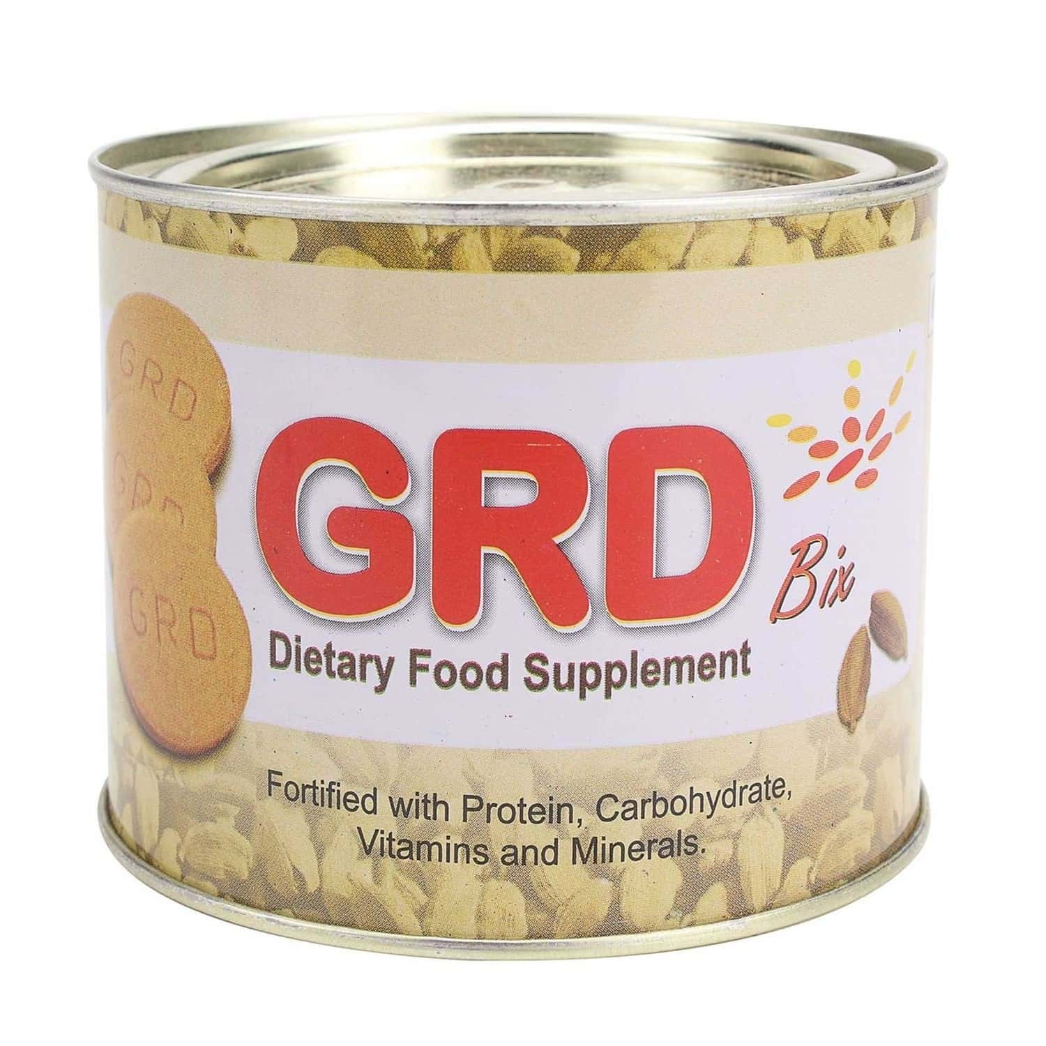 Grd Bix Cardamom Nutrition Biscuits Tin Of 250 G