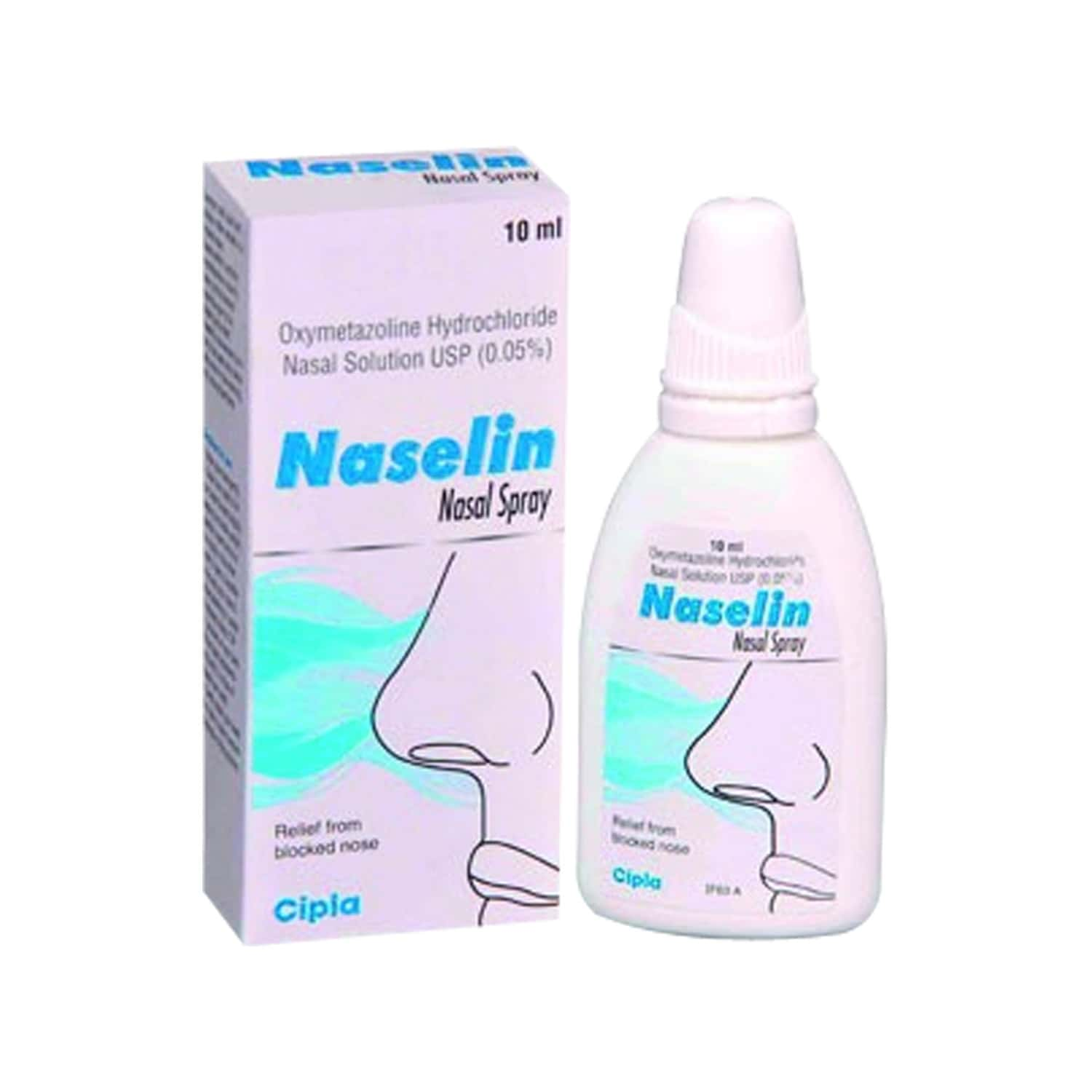 Naselin  Nasal Spray  Bottle Of 10 Ml