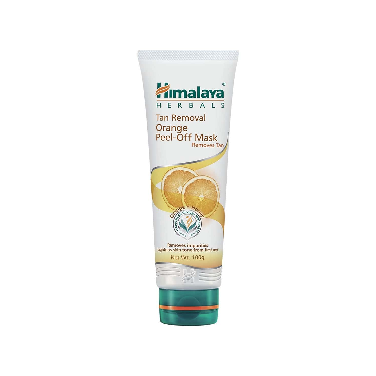 Himalaya Tan Removal Orange Peel-off Mask 100g