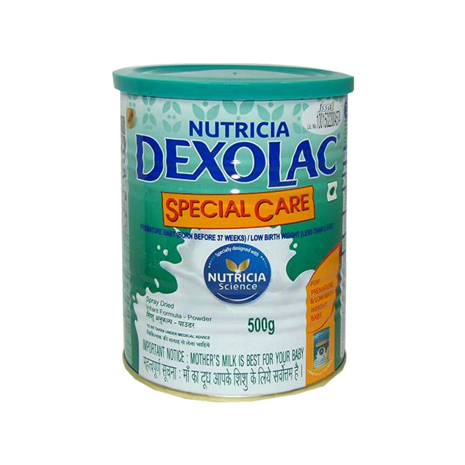 Dexolac Special Care Baby Food Tin Of 500 G