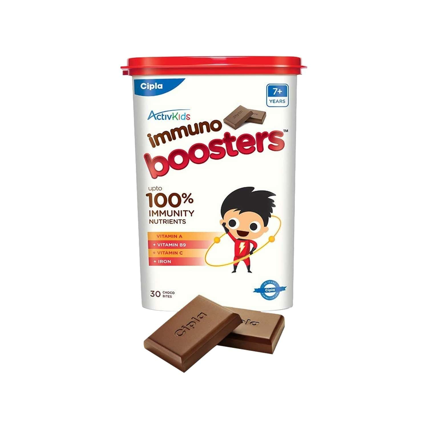 Cipla Activkids Immuno Boosters Nutrition Bar 7+ Years Bottle Of 30 's