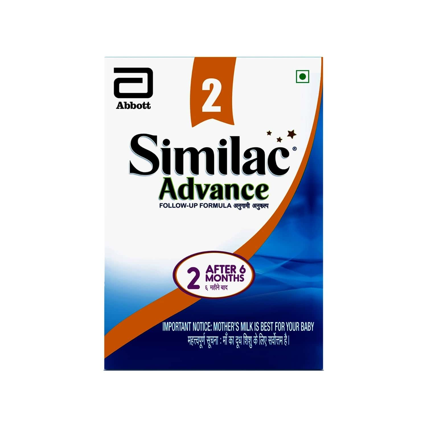 Similac Advance Follow-up Infant Formula Stage 2 Baby Food (after 6 Months) Refill Of 400 G