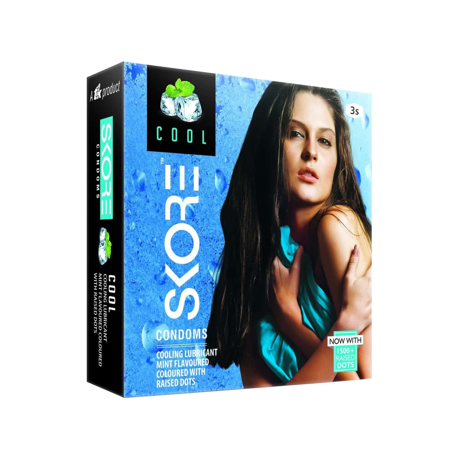 Skore Cool With 1500+ Raised Dots Pack Of 3