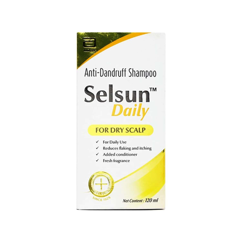 Selsun Daily Bottle Of 120ml Shampoo
