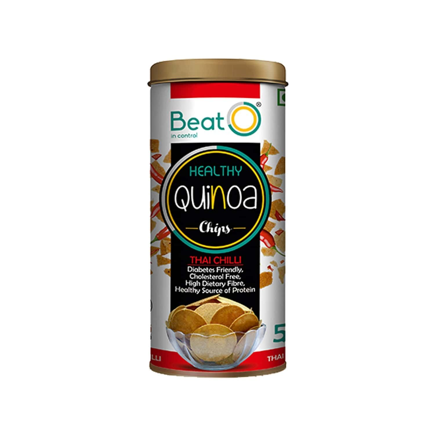 Beato Quinoa Chips - Thai Chilli 100 G