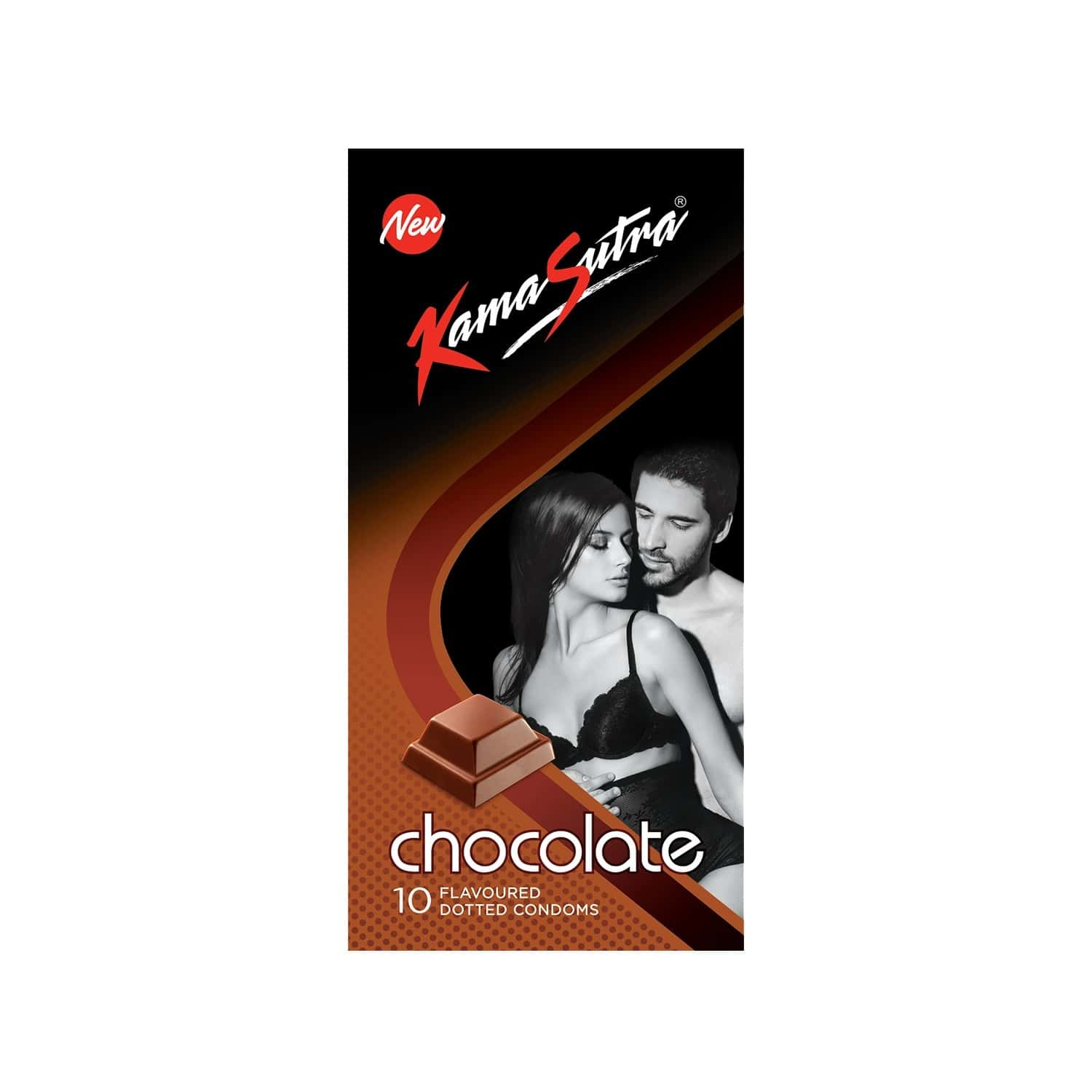 Kamasutra Excite Chocolate Box Of 10 Condoms