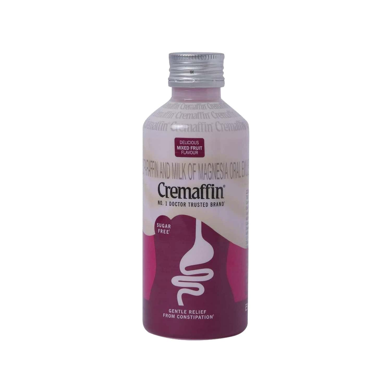 Cremaffin Mixed Fruit Sugar Free Emulsion Bottle Of 100 Ml