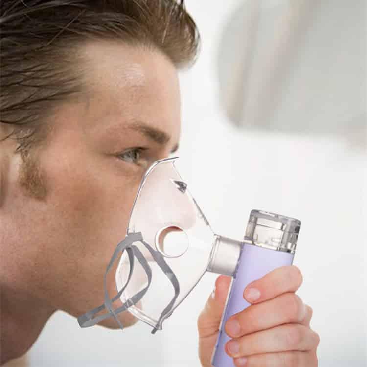 Bpl Breath Ezee N10 Vibrating Mesh Nebulizer - White - 1pc