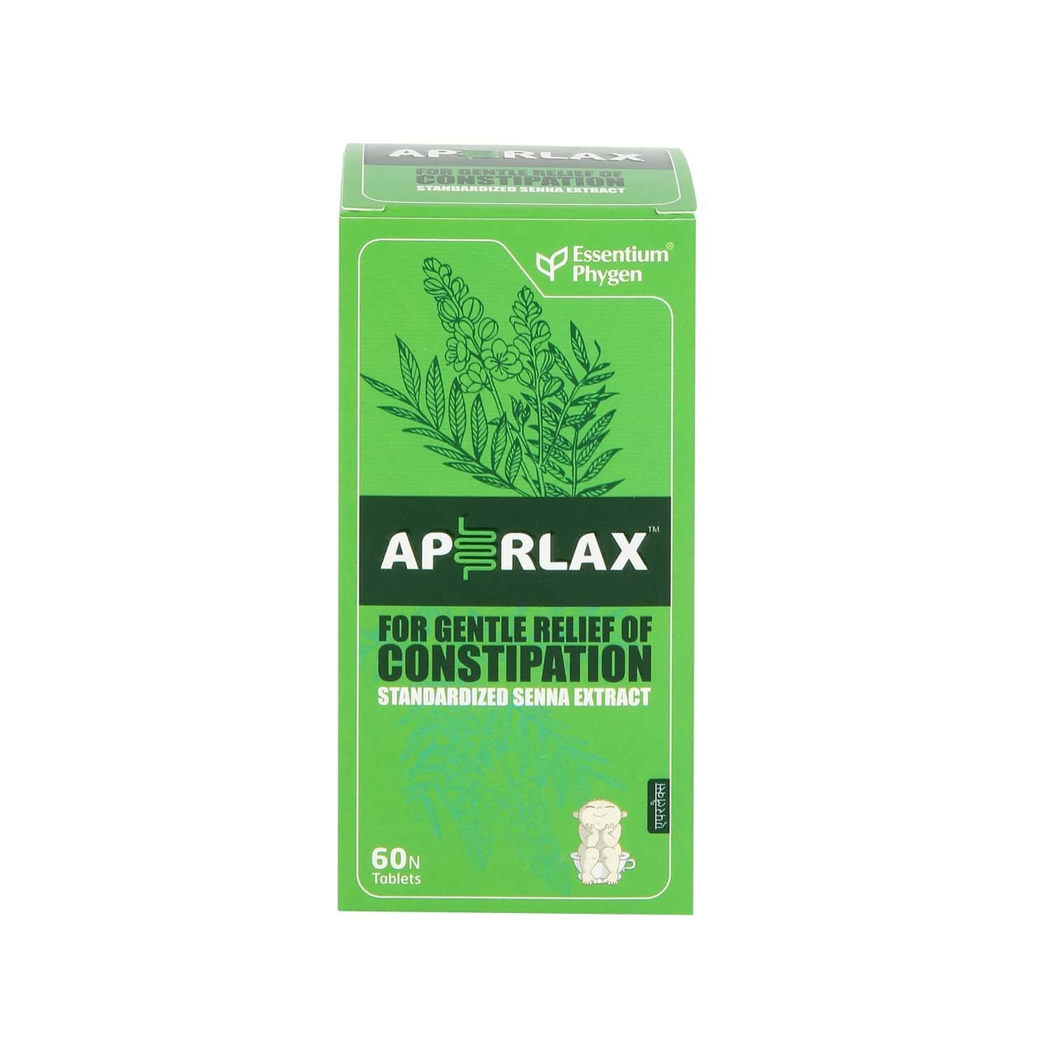 Aperlax Tablets For Relief From Constipation - 60's