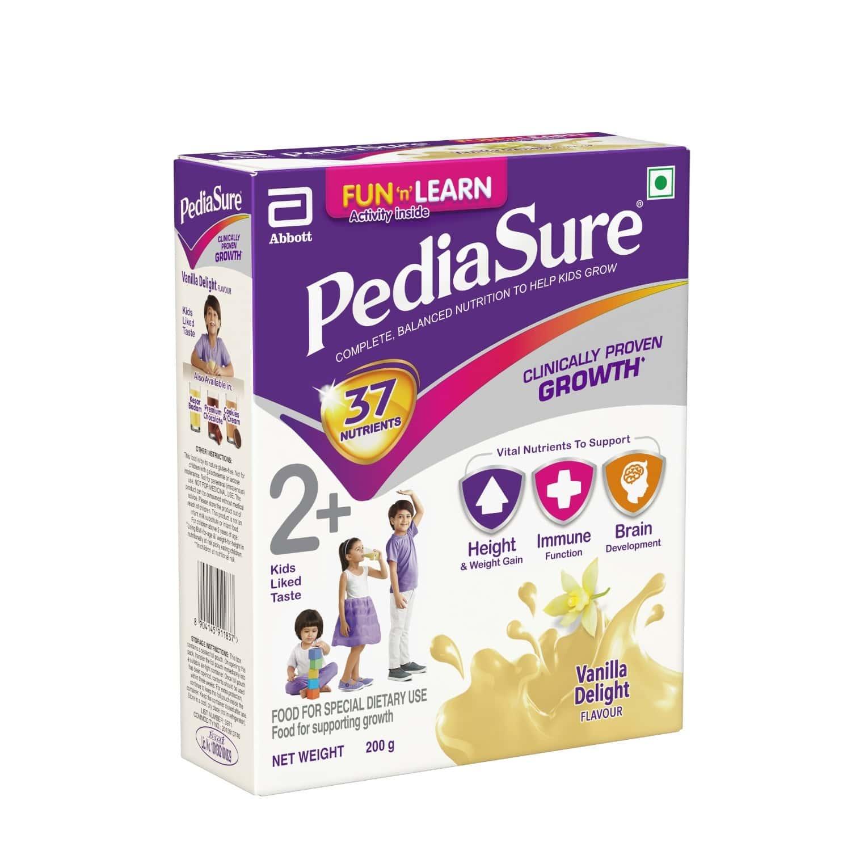 Pediasure Vanilla Delight Child Nutrition Drink Refill Of 200 G