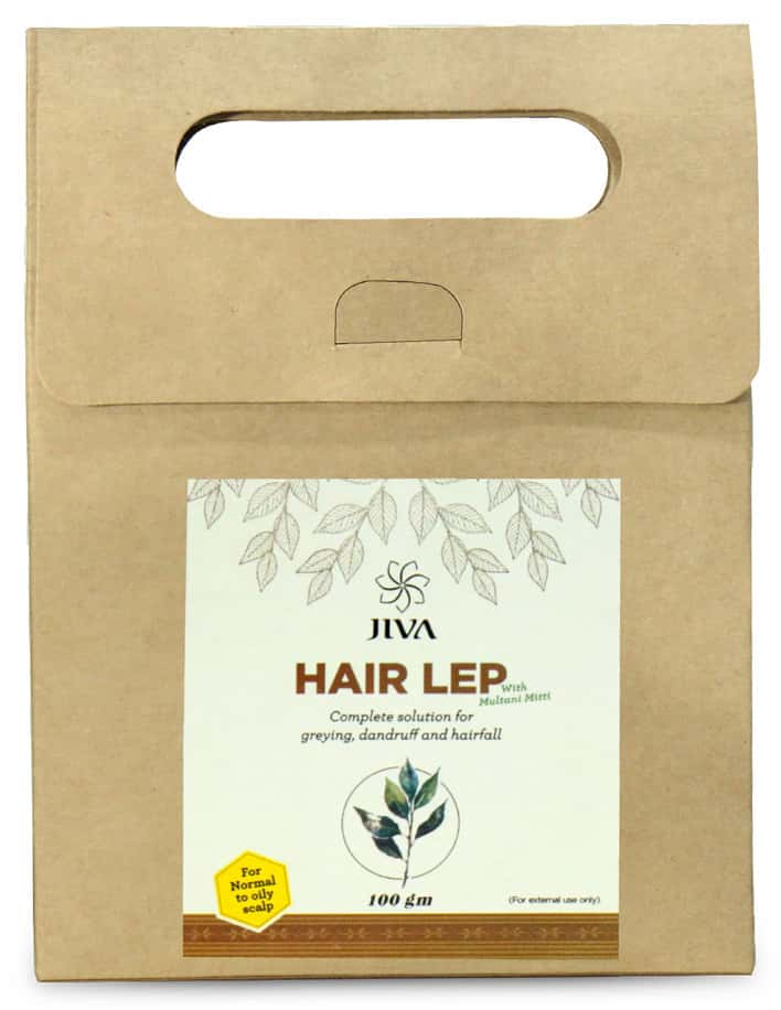 Jiva Hair Lep Without Multani Mitti (100 Gm)