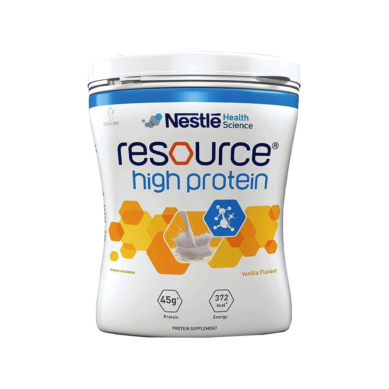 Nestle Resource High Vanilla Whey Protein Jar Of 400 G