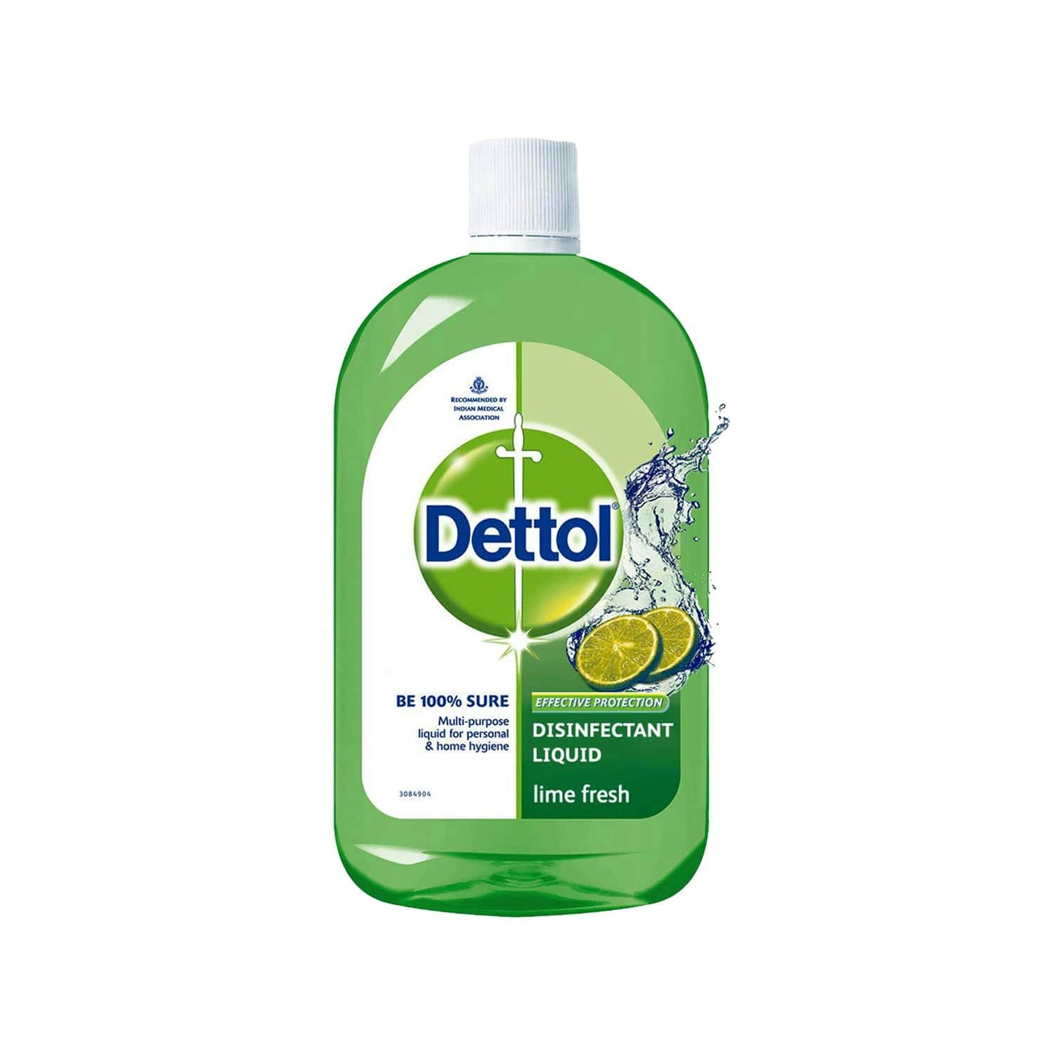 Dettol Multi-use Lime & Lemon Disinfectant Liquid Bottle Of 200 Ml