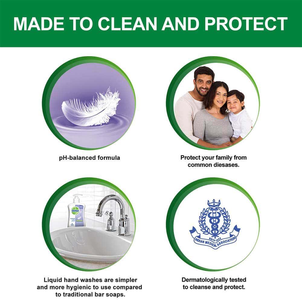 Dettol Liquid Handwash Refill, Sensitive - 750ml