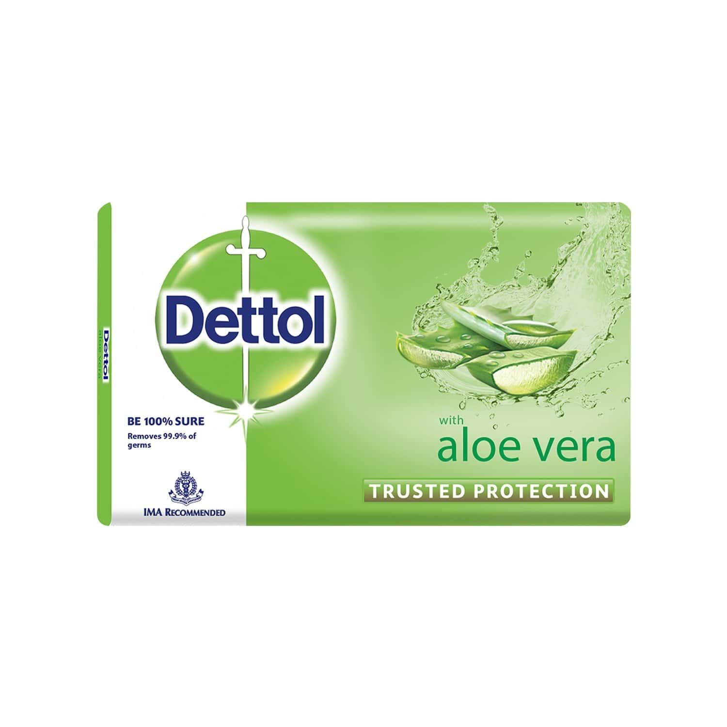 Dettol Bathing Bar Soap, Aloe - 100gm (pack Of 3)