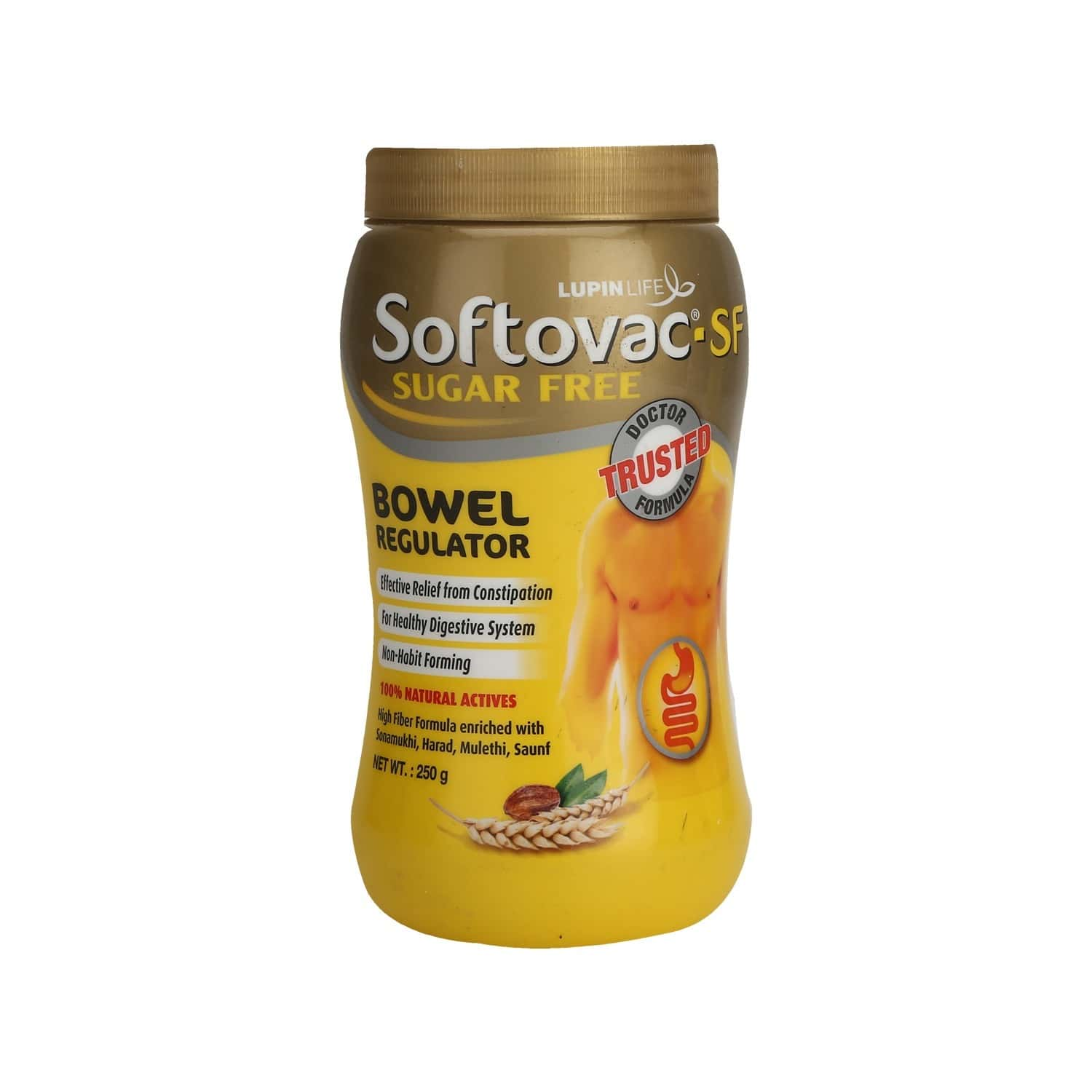 Softovac Sf Constipation Powder Bottle Of 250 G