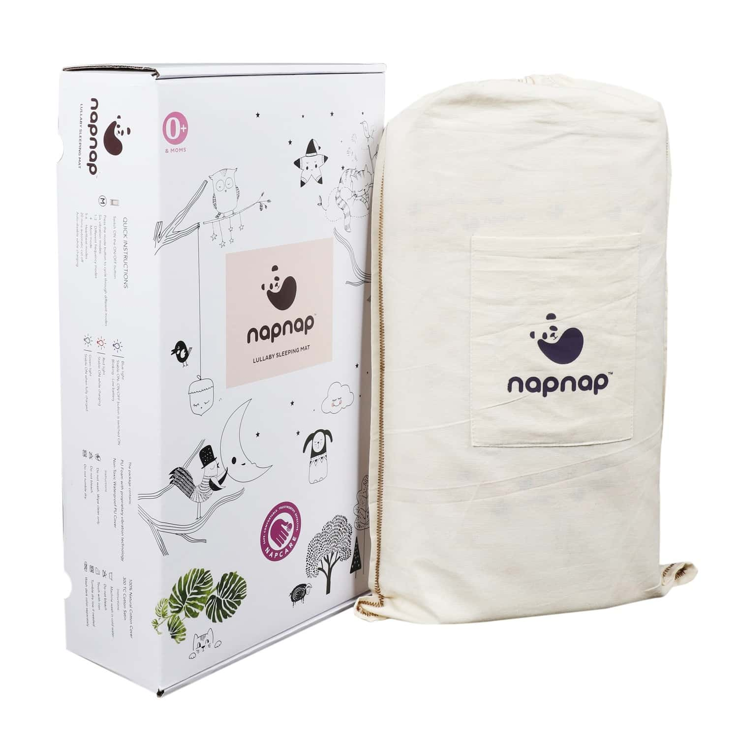 Napnap Portable Soothing Mat For New-borns And New Moms. - British White