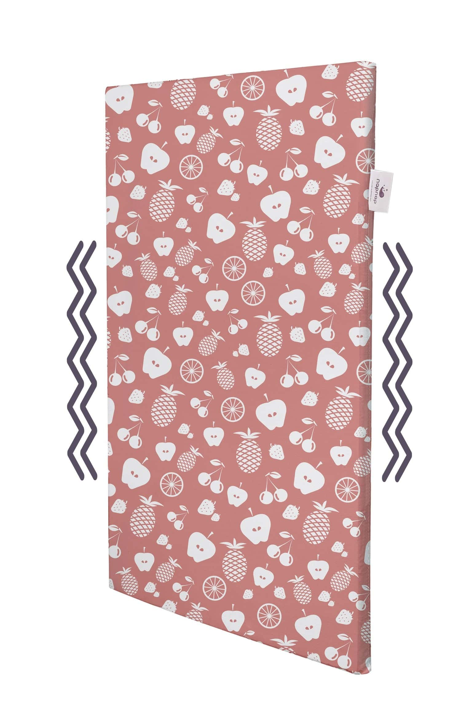Napnap Portable Soothing Mat For New-borns And New Moms.- Very Berry