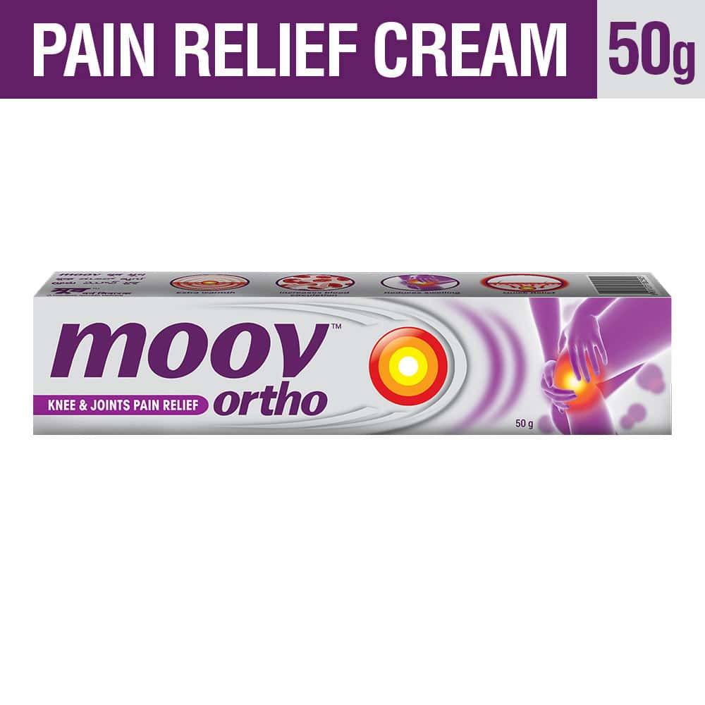Moov Ortho, Knee & Joints Pain Relief Cream – 50 G