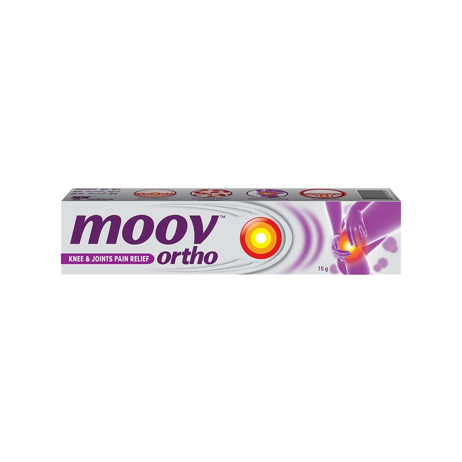 Moov Ortho, Knee & Joints Pain Relief Cream – 15 G