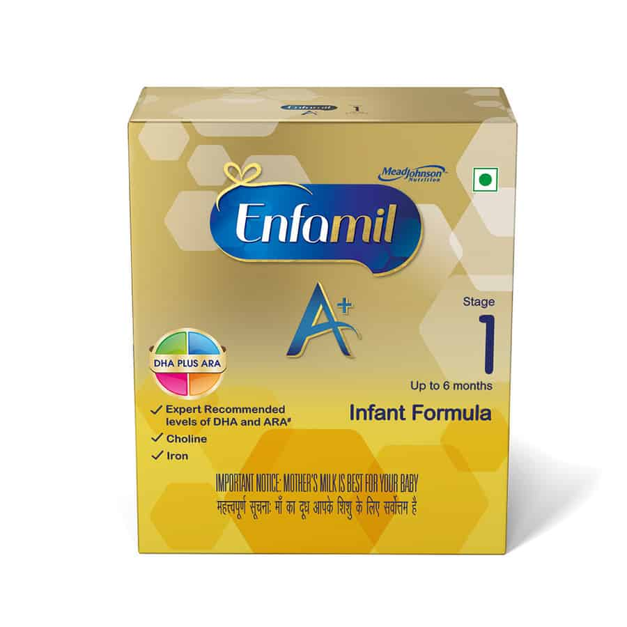 Enfamil A+ Stage 1: Infant Formula (0 To 6 Months) - 800gm Refill