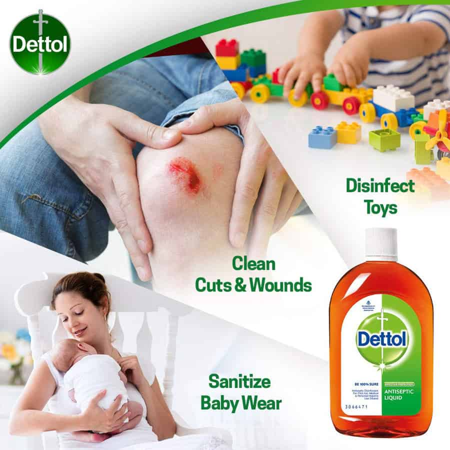 Dettol Antiseptic Liquid 550 Ml
